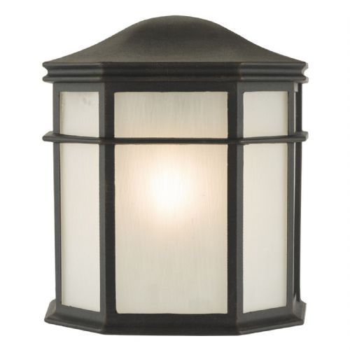 Dulbecco 1 Light Lantern Black IP44  DUL2122